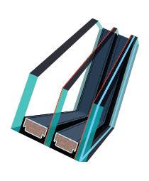 type de vitrage dans les fen tres fakro fakro. Black Bedroom Furniture Sets. Home Design Ideas
