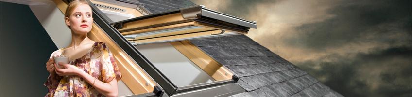fen tre de toit projection rotation preselect fakro. Black Bedroom Furniture Sets. Home Design Ideas