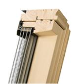Fen tres de toit rotation pour maisons passives fakro for Fenetre quadruple vitrage