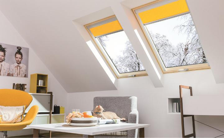 Fen tres de toit escaliers escamotables de fakro for Fakro fenetre de toit