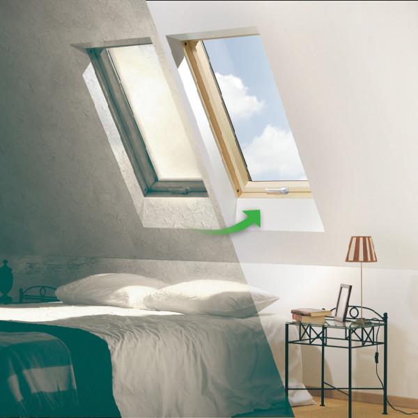 fen tres de toit vieillissantes la solution avec fakro renov. Black Bedroom Furniture Sets. Home Design Ideas