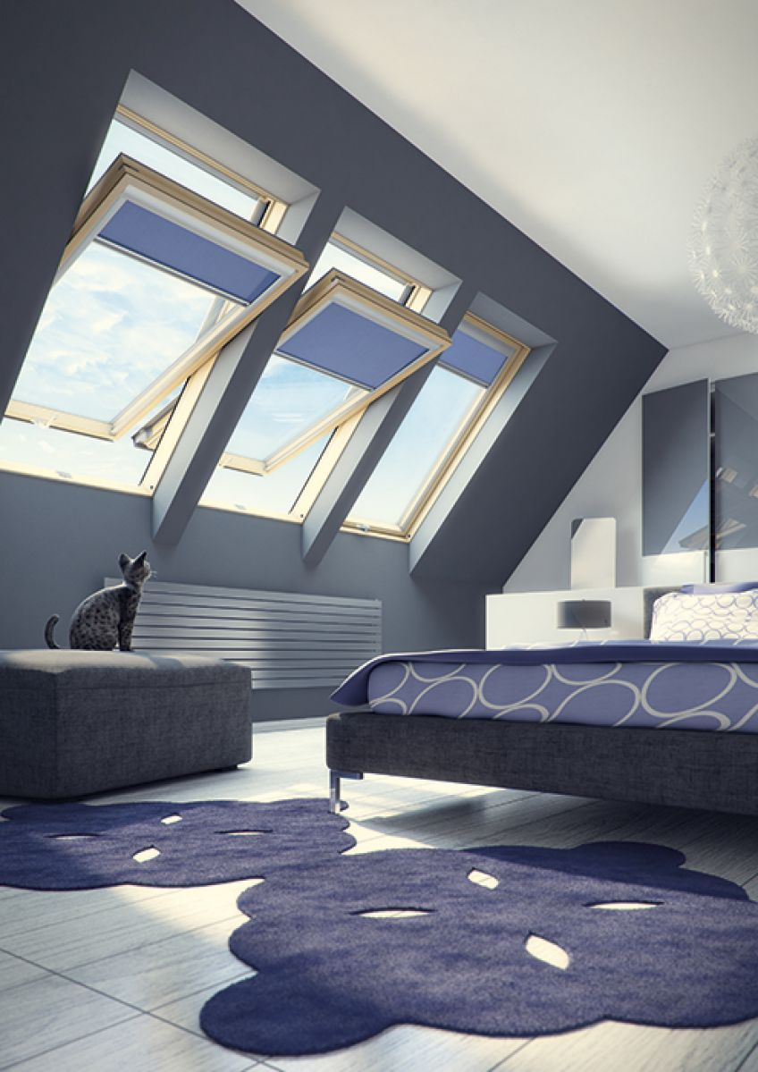 fen tre de toit rotation fakro. Black Bedroom Furniture Sets. Home Design Ideas